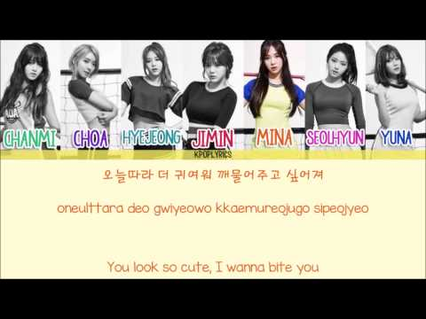 AOA - Chocolate [Eng/Rom/Han] Picture + Color Coded HD