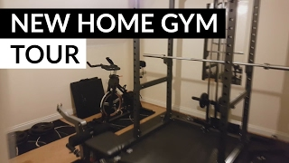 Full tour of my new home gym