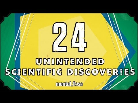 24 Unintended Scientific Discoveries  mental_floss on YouTube (Ep. 35)