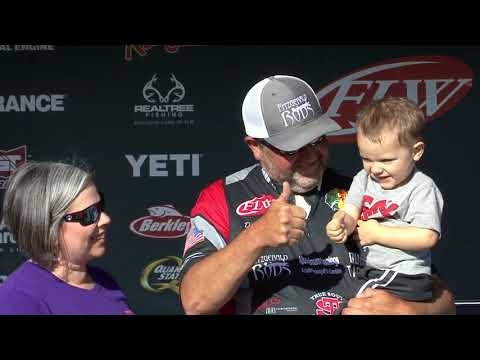 FLW Tour | Lewis Smith Lake | Winning Moment