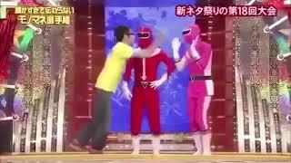 細かすぎて伝わらないモノマネ『ヒーローの握手会』