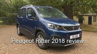 Peugeot Rifter 2018 road test and review