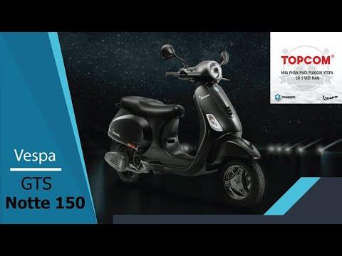 Vespa GTS Notte  - TOPCOM VESPA VIỆT NAM