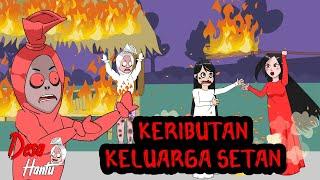 Keributan Keluarga Setan - Video Kompilasi 6 - Keluarga Pocong - Desa Hantu  - Dolant Kreatif
