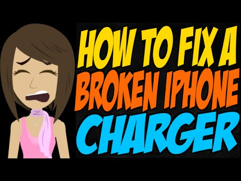 how to fix a broken iphone charger how to fix a broken iphone charger 20058