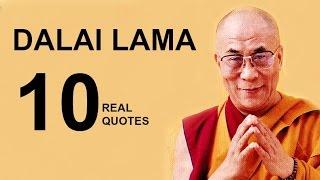 Dalai Lama  10 Real Life Quotes on Success | Inspiring | Motivational Quotes
