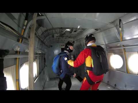 Прыжки с парашютом Попадание в облака Планирующий парашют Лесник 3
