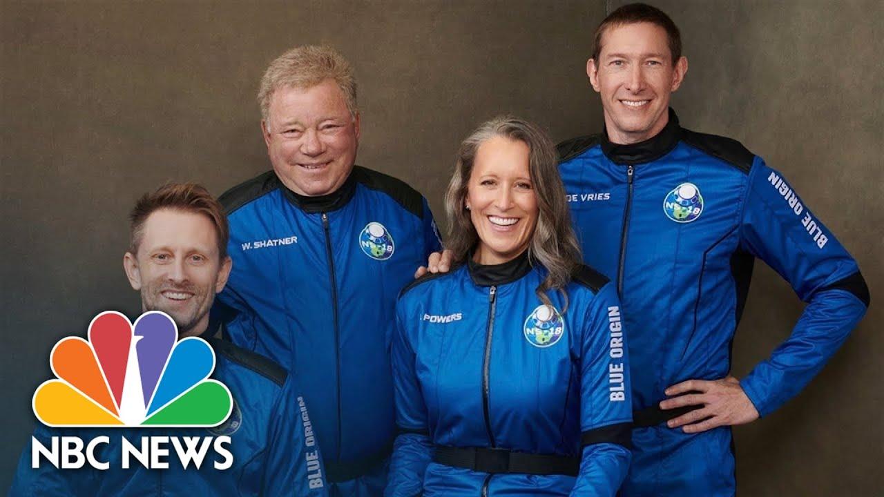 Download Watch: William Shatner Goes Into Space On Blue Origin Flight