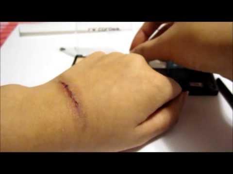 Fake Cuts Tutorial (Super Easy Makeup)