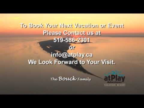 Long Point, Ontario, atPlay Adventures Vacation Resort, Cottage Rentals