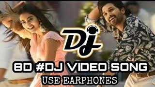 Ala Vaikuntapuram lo DJ Songs   All Songs  Telugu Dj remix songs 8D    Latest Released Telugu Songs