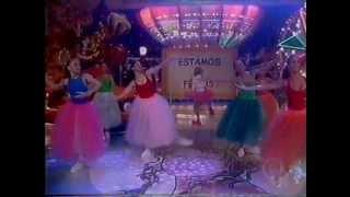 "Xuxa cantando ""Valsa da Bailarina"" - Xuxa Park de férias 23/1/1999"