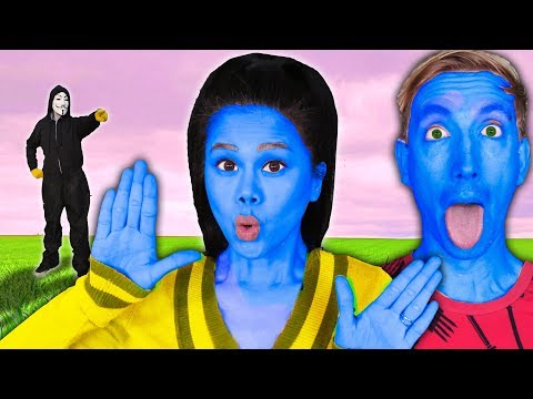 vy-&-chad-undercover-in-disguise-as-blue-man-group-to-trick-project-zorgo-(music-battle-royale)