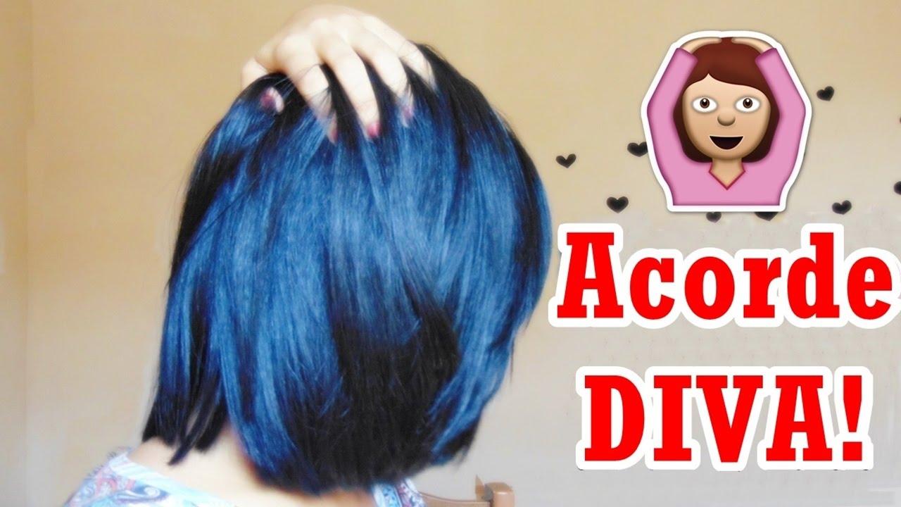 9125a1da3 Como acordar com cabelo liso sem chapinha ou secador - YouTube