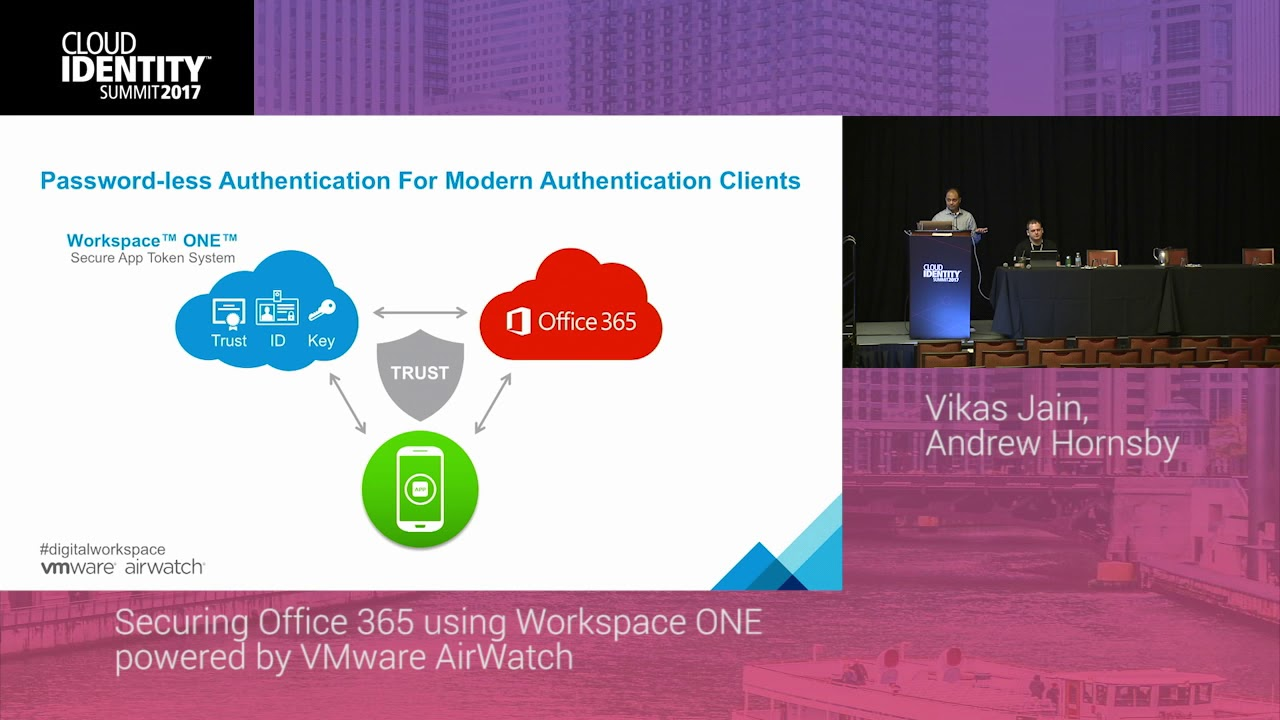 621 Securing Office 365 Using Workspace One Powered By Vmware