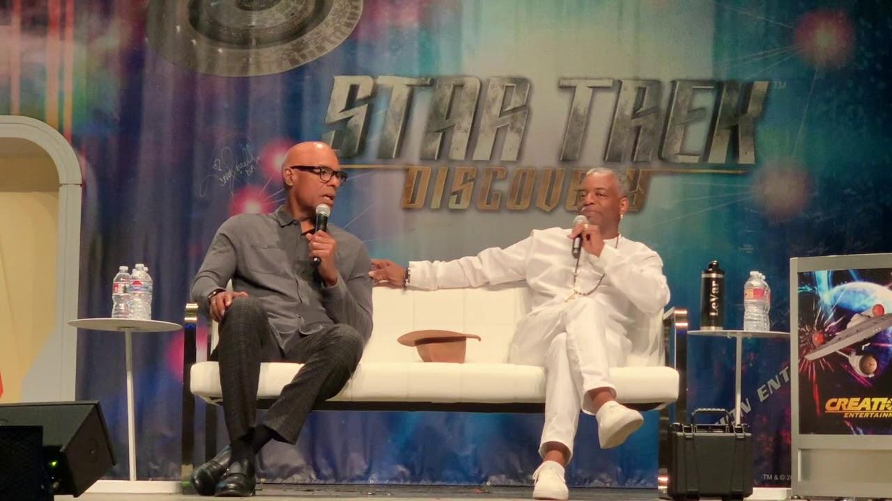 Download LeVar Burton & Michael Dorn - Star Trek Las Vegas 2019