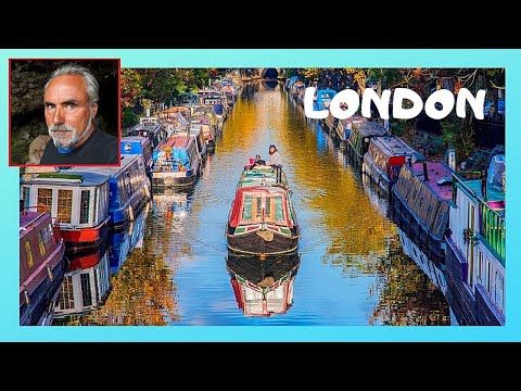 LONDON, the canal boat festival and show at LITTLE VENICE