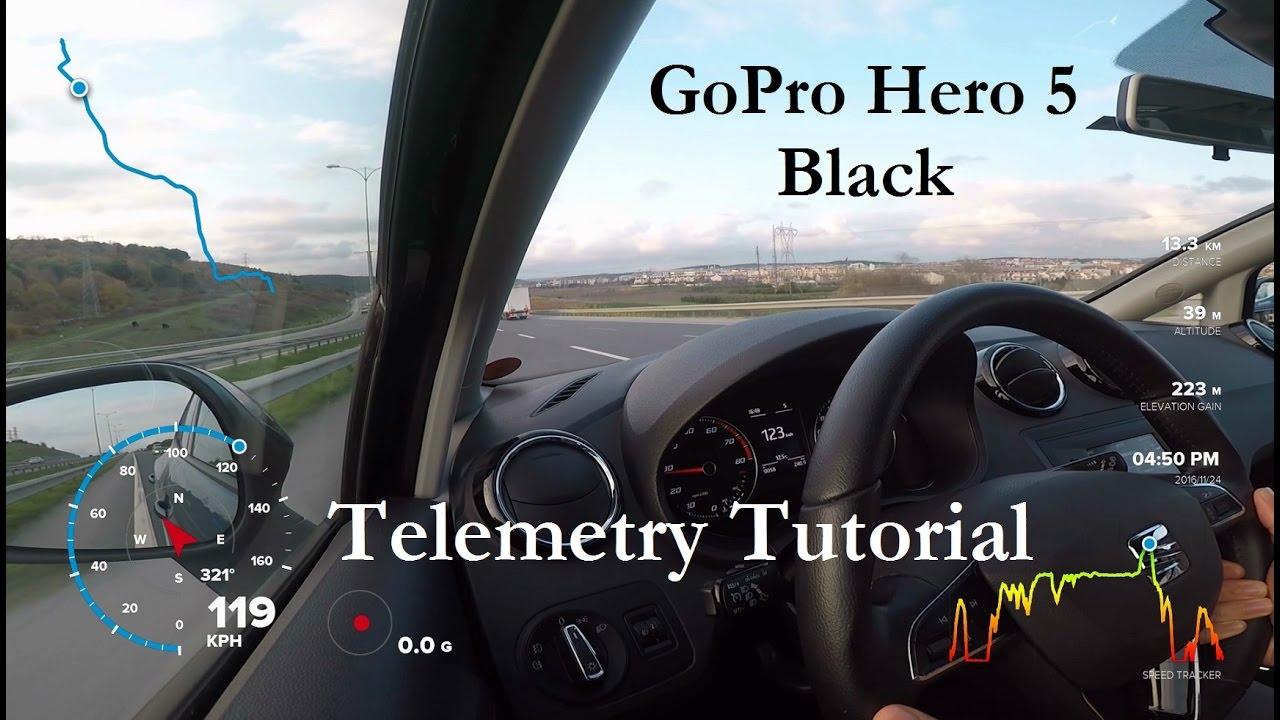 GoPro Hero 5/6/7 - GPS Telemetry Tutorial with Quik for Desktop