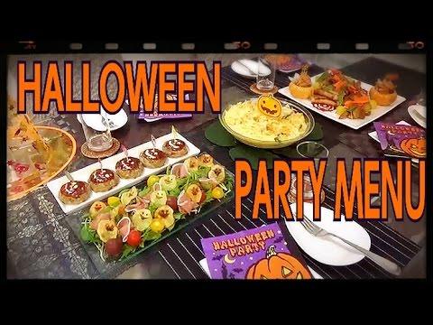 halloween party menu まだ間に合う 簡単 ハロウィンパーティー