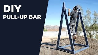 Building an Outdoor Pull-Up Bar | DIY Chin-Up Bar