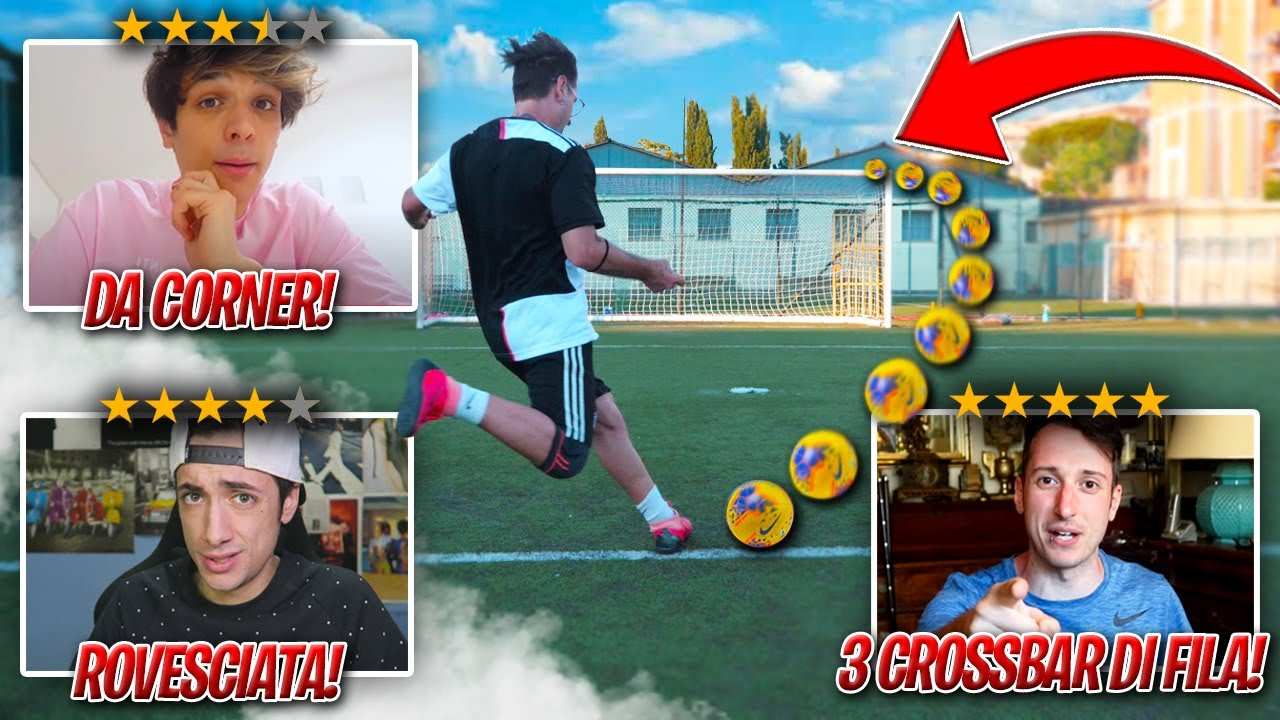 ⚽️ YOUTUBERS DECIDONO le MIE FOOTBALL CHALLENGE per 24 ORE! *sfide assurde*