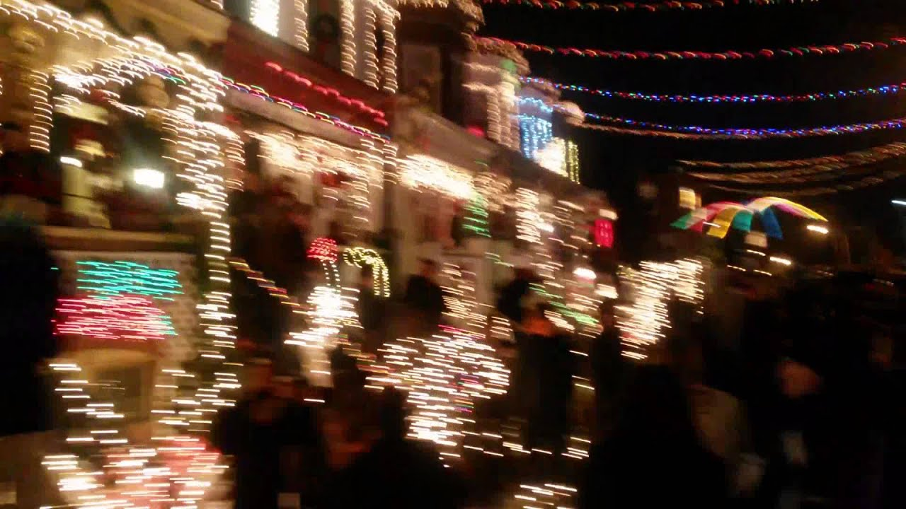 2014 hampden baltimore md miracle on 34th street christmas lights youtube - Baltimore 34th Street Christmas Lights
