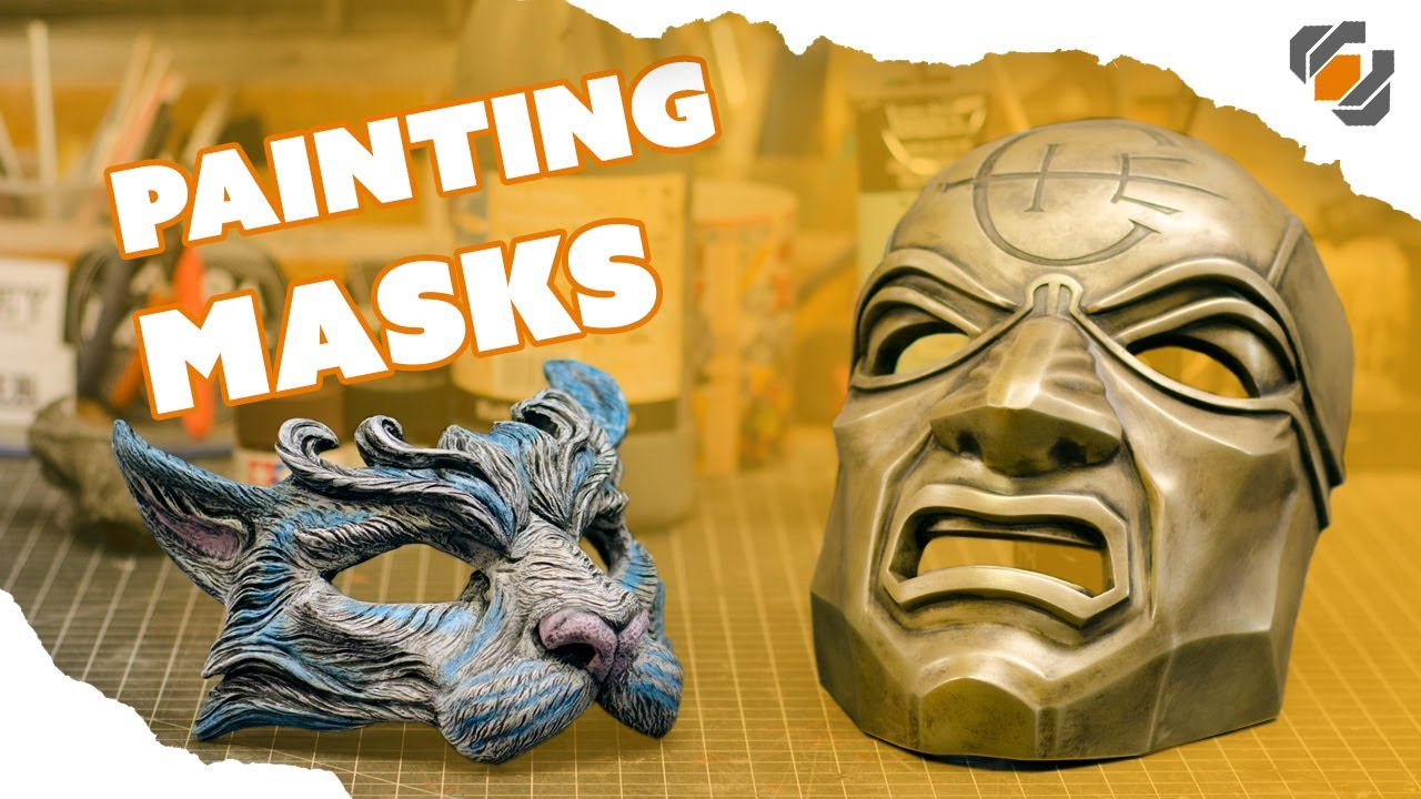 Painting Masks - Dishonored Overseer and Masquerade Cat - YouTube