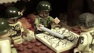 """LEGO WW2 NORMANDY """"БРАТЬЯ ПО ОРУЖИЮ"""" мультфильм о войне 2 серия"""