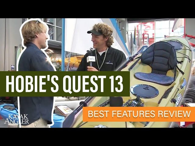 Hobie Quest 13 🎣 Fishing Kayak 📈 Specs & Features Review and Walk-Around 🏆