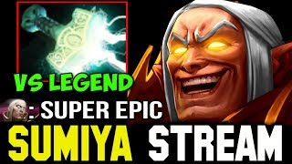 Sumiya Invoker vs Legend Super Epic Comeback 👍 Sumiya Facecam Stream Moment #94