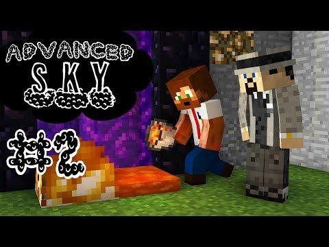 Minecraft Advanced Sky - #2 - Portal utan flint & steel