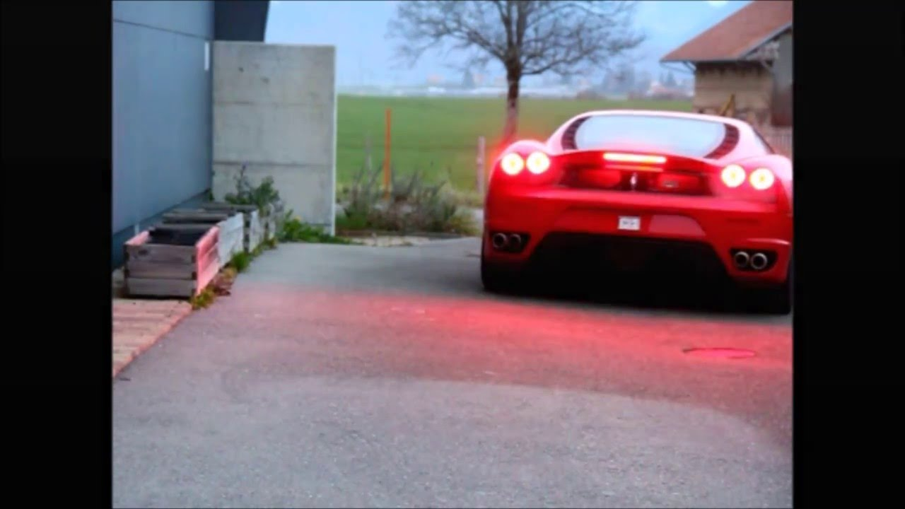www ScudIngSwiss com - Ferrari G-Force Safety Brake Light Flasher System  Demo