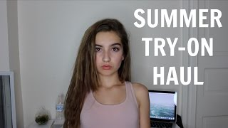 TRY-ON SUMMER HAUL// Brandy, Pacsun, PINK, Garage +MORE