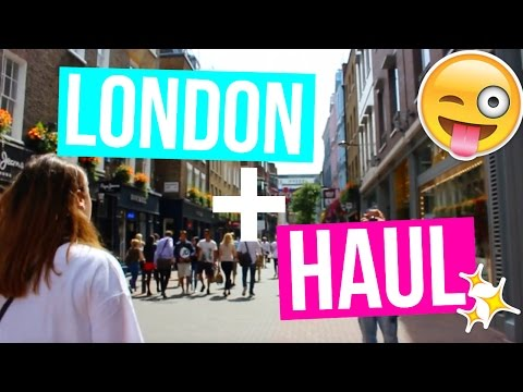 LONDON SHOPPING AND HAUL!!!