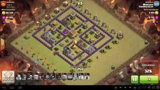 Clash of Clans -- las PEORES batalla de guerra -- 6 -- TBL vs Koreanos