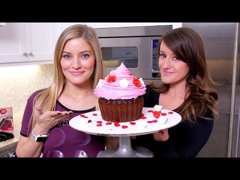 Making A Giant Cupcake!