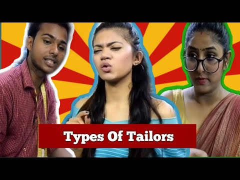 types of women at tailor shop