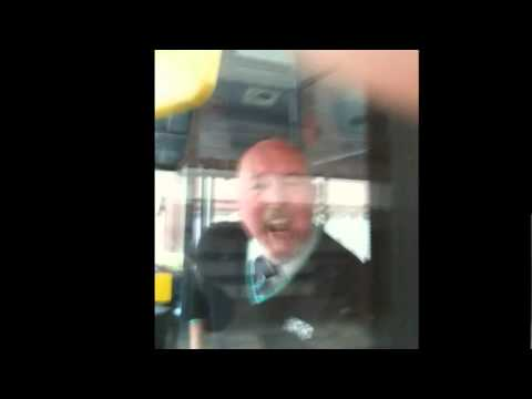 London United - Aggressive threatening Bus Driver - Kingston Upon Thames