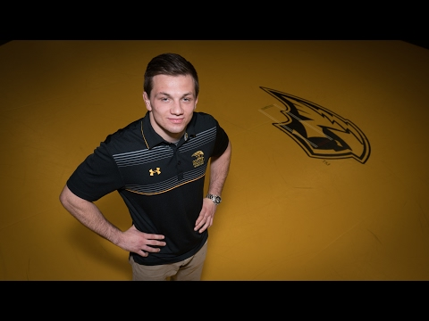 Wrestler finds a home, stability at UW Oshkosh