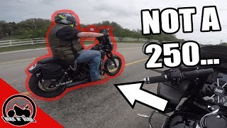 Uncle Ken Rides The Dyna! - 2017 Dyna Street Bob