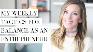 How to Find Balance as an Entrepreneur | Intentional & Slow Living