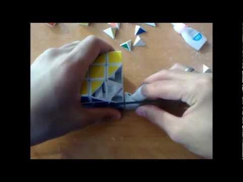 Как сделать кубик Рубика №4 Пираморфикс