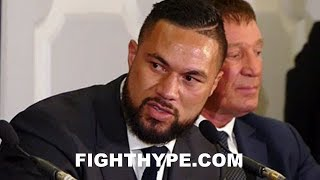 JOSEPH PARKER EXPLAINS WHAT HE DOES BETTER THAN ANTHONY JOSHUA; REVEALS HOW LONG HE STUDIED HIM