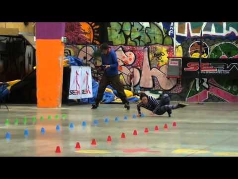 Sinead howick Final run at battle Budapest final 2014.