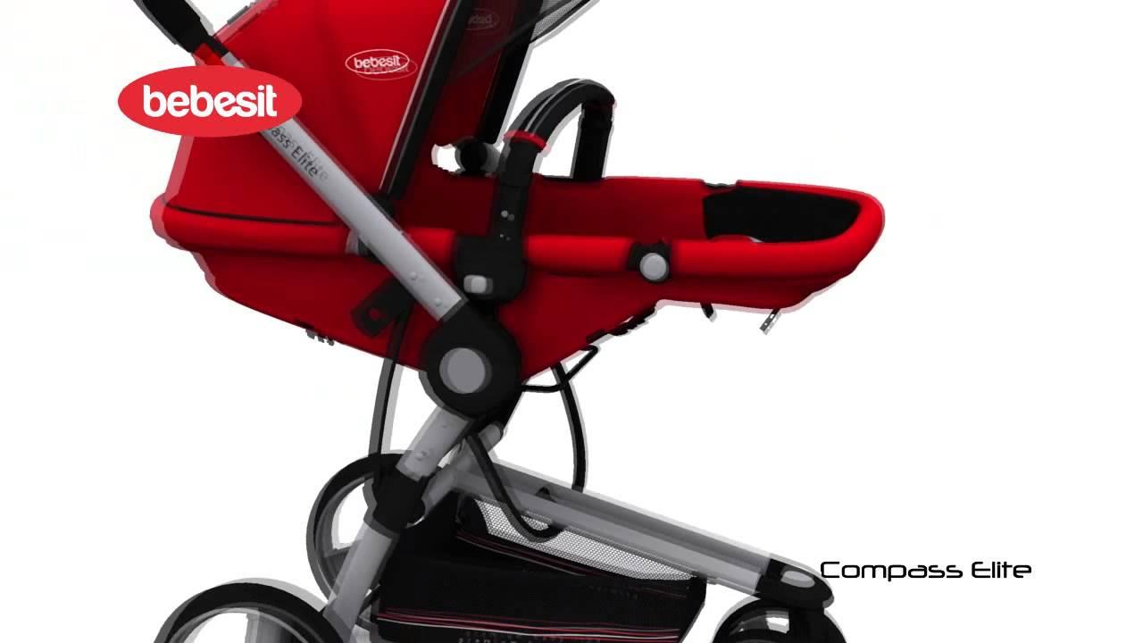 fbfd59c5c Bebesit Coche Compass Elite Melange rojo – La Tienda del Bebe