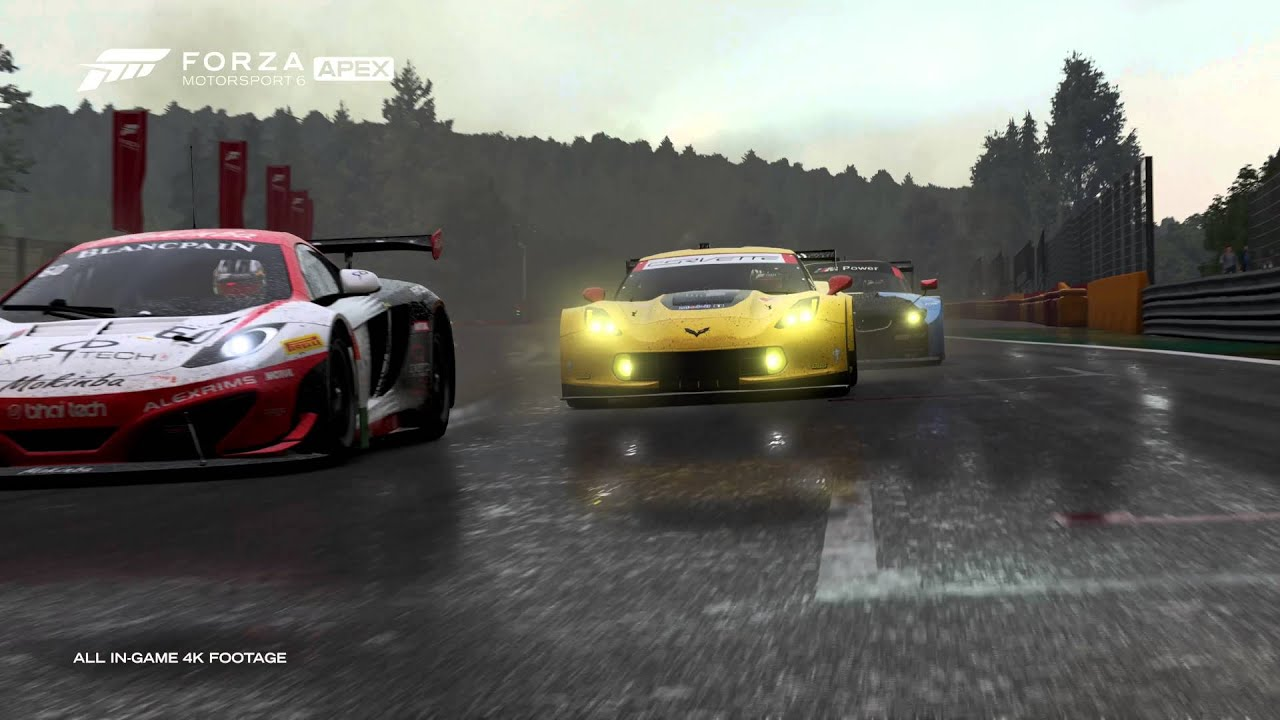 Scorpio Car Wallpaper Forza Motorsport 6 Apex Windows 10 Announcement Trailer