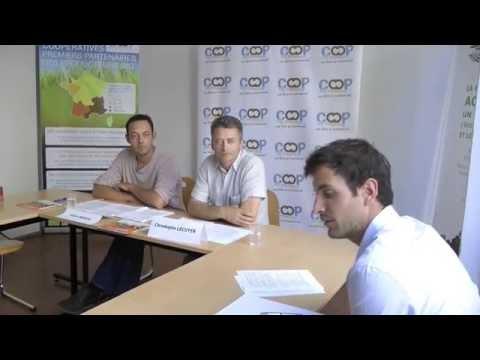 """Conférence de presse """"Agriculture Biologique"""" de Coop de France"""