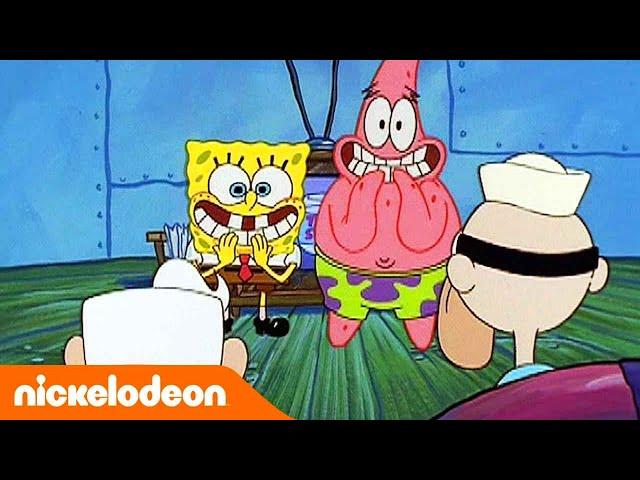 SpongeBob | Il Ritorno Dei Supereroi | Nickelodeon Italia