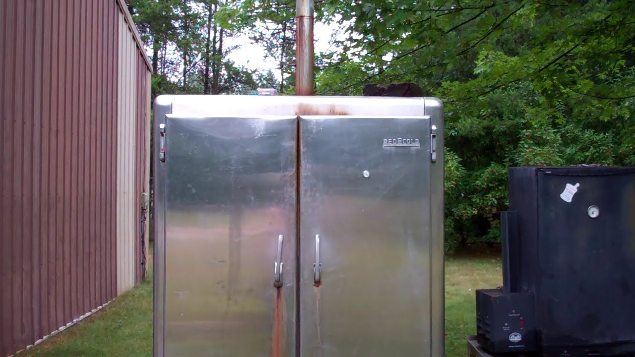 How I Converted And Old Freezer/Refrigerator Into A Awesome Smoker Old Smokehouse Designs on homemade grill designs, old smokehouse drawing, old time smokehouse, 1700 s stationery paper designs, brick chimney top designs, wine bottle designs, old wooden smokehouses, old wood smokehouse, metal railing designs, old log smokehouse, old smokehouse bar b que, old meat smokehouse, jack in the box designs, bbq restaurant floor plans designs, old smokehouse bacon, old fashioned smokehouse,
