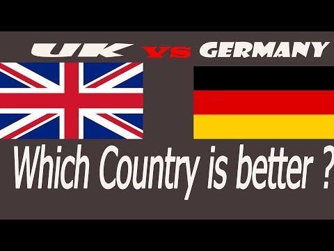 Quality Of Living Comparison Between Germany And United Kingdom